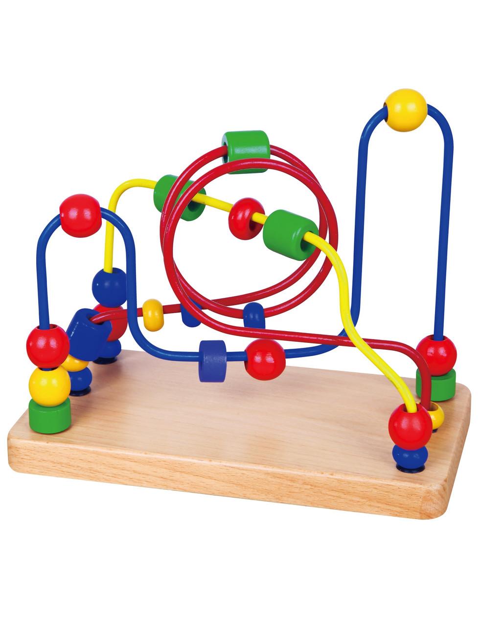Развивающие и обучающие игрушки «Viga Toys» (56256) лабиринт Бусинки