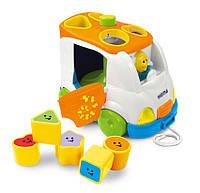 Развивающие и обучающие игрушки «Weina» (2071) сортер Музыкальный микроавтобус (звук. эффекты)