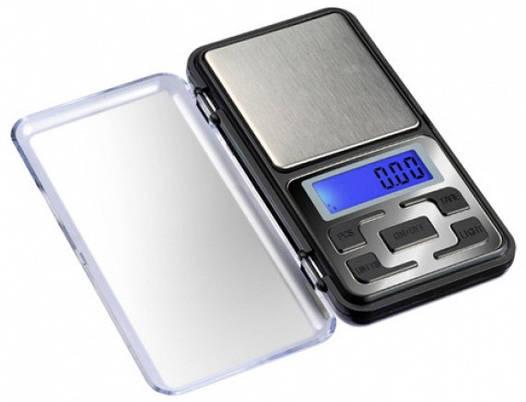 Весы электронные охотничьи Pocket Scale 500/0,01г МН-500