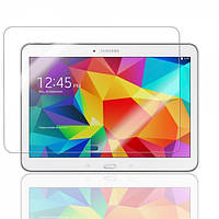 """Защитное стекло на экран прозрачное для Sаmsung Tab 4  10.1""""( T530 ), влажная/сухая салфетки, BOX"""