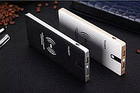 Набор YIJIAYI платформа+ адаптер для беспроводной зарядки , кабель USB/micro 1m, Black, Blister