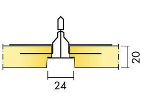 Ecophon Master Rigid E Полускрытая подвесная система. Панели демонтируются., фото 3