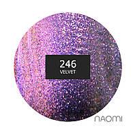 Гель-лак Naomi 6 мл. Chameleon 246 Velvet