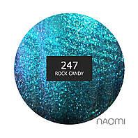 Гель-лак Naomi 6 мл. Chameleon 247 Rock candy