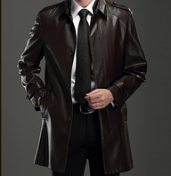 Мужская кожаная куртка. Модель 2026, фото 1