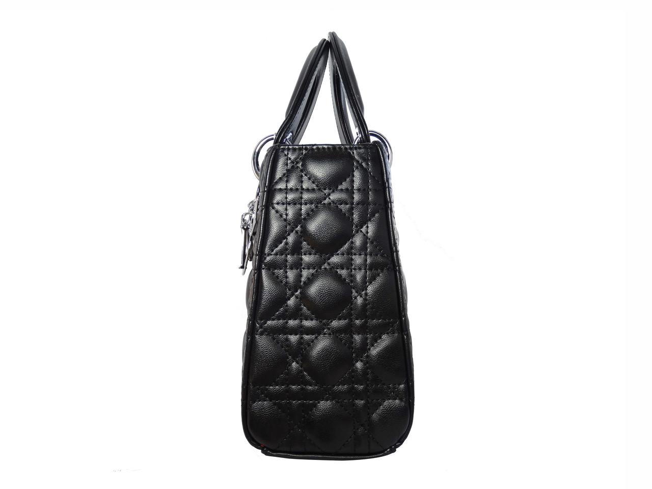 8ca39ea10003 Женская сумка в стиле Christian Dior (черная) №6101  продажа, цена в ...