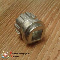 Муфта предохранительная (втулка) алюминиевая для мясорубки Bosch 020470