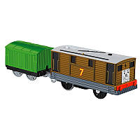 Fisher-Price Thomas & Friends TrackMaster Toby Motorized Engine (Томас и его друзья Паровозик Тоби с вагоном)