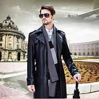 Мужская кожаная куртка. Модель 2027