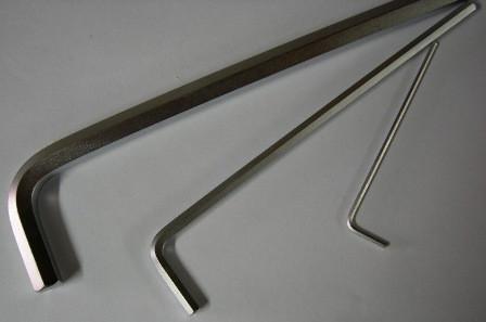 Угловой шестигранник HEX 6,0 мм экстра длинный