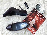 Туфли-лодочки в новом цвете- бордо! Натур замш/кожа