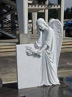 Стела с ангелом