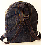 Джинсовый рюкзак с днем рождения, фото 4