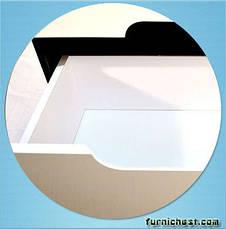 Пенал для ванной комнаты Симпл-Венге 40-11 левый (бока венге) ПИК, фото 3