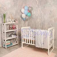 Набор в детскую кроватку  Baby Design Premium ice (6 предметов), фото 1