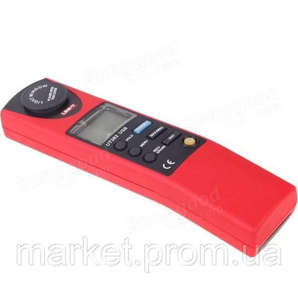 Цифровой люксметр SR5382 (UNI-T UT382) (0-20000 Lux) Память (2044 замера), ПО.