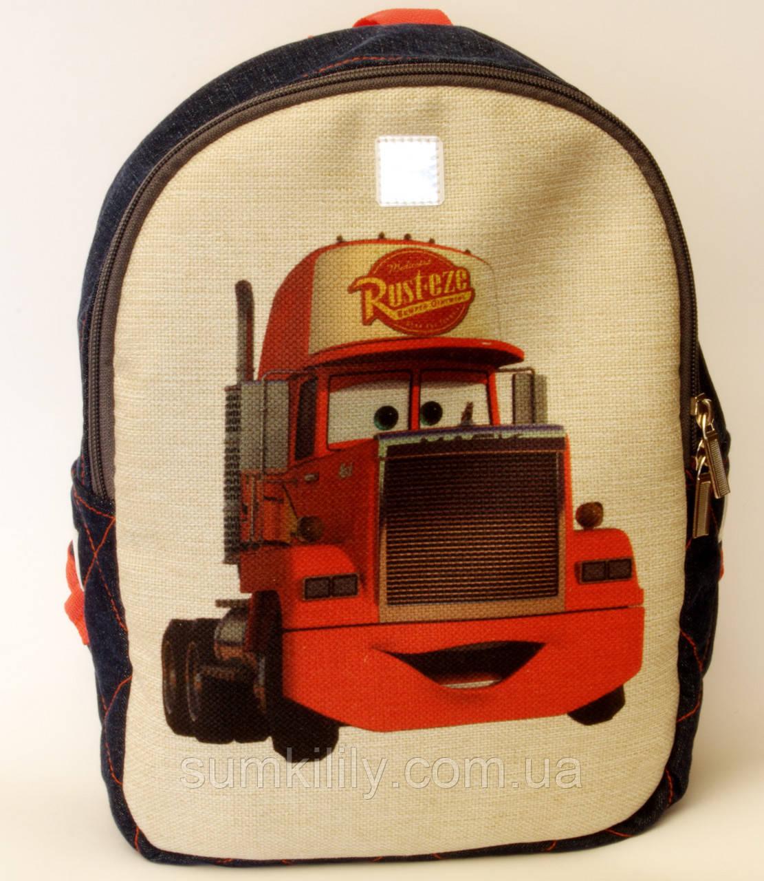 Детский рюкзак Тачки