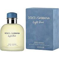 Dolce & Gabbana Light Blue Pour Homme туалетная вода 125 ml. (Дольче Габбана Лайт Блю пур Ом), фото 1