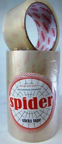 Скотч упаковочный Spider 1200м, ширина 46мм.