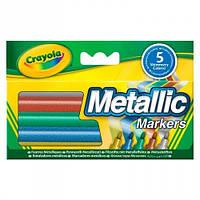 Набор из 5 фломастеров Crayola металлик (58-5054)