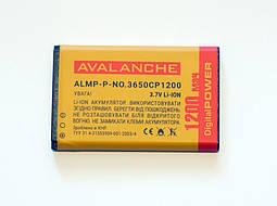 АКБ Avalanche для Nokia 1100, 2300, 3100, 3650 (BL5C) - 1200 мАч