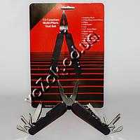 Нож мультитул многофункциональный универсальный 15 Function Multi-Pliers Tool Set с чехлом, фото 1