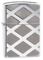 Зажигалка Zippo 28637 Armor™ Carved Chrome Diamond - эксклюзивный подарок