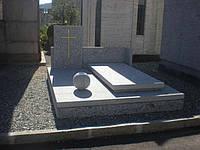 Мемориальный комплекс из гранита П - ЭМК 02