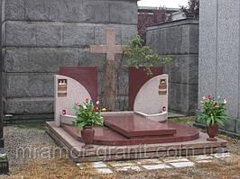 Мемориальный комплекс из гранита П - ЭМК 03