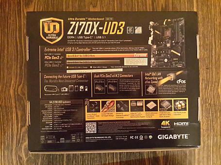 Материнская плата GIGABYTE GA-Z170X-UD3, фото 2