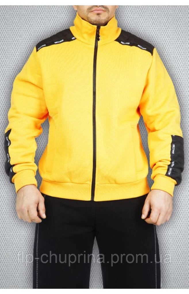 Мужская толстовка желтая
