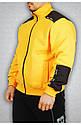 Мужская толстовка желтая, фото 2