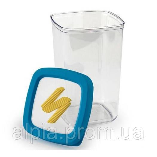 """Пластиковый контейнер для хранения Snips """"Паста"""" 1.5 л"""
