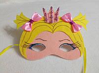 Карнавальная маска Принцесса