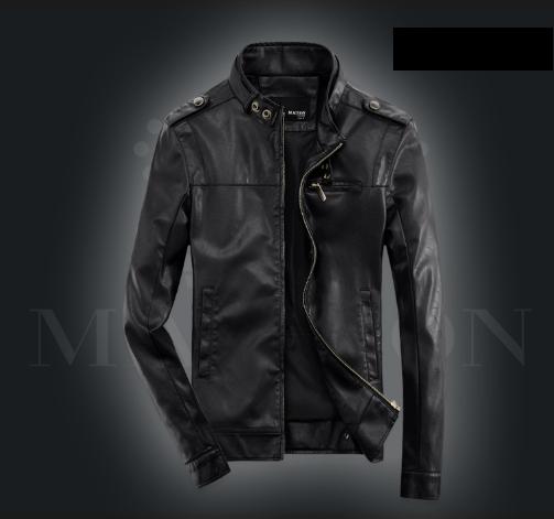 Мужская кожаная куртка. Модель 2030