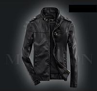 Мужская кожаная куртка. Модель 2030, фото 1