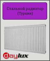 Стальной радиатор Daylux 300х1100 11 типа боковое подключение