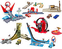 Игровой набор Дисней 4 в 1 мир Тачек Автомобили Радиатор-Спрингс