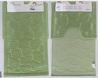 Набор ковриков Arya Tas зеленый