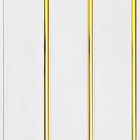 Панель ПВХ 24 см Золото, 8мм