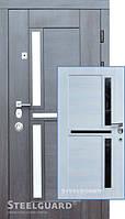 Входная дверь SteelGuard Neoline 195 венге прованс/сосна прованс, 880 х 2050 мм