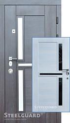 Входная дверь SteelGuard Neoline 195 венге прованс/сосна прованс, 960 х 2050 мм