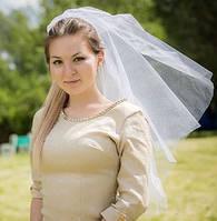 Фата невесте для девичника белая (есть цвета)