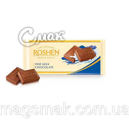 Шоколад Рошен Темный Молочный , 90 г, фото 2