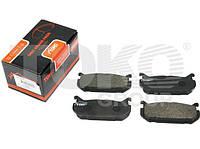 Колодки тормозные задние Mazda 626 GE MX-6 GE Xedos 6 CA  Ford USA Probe II