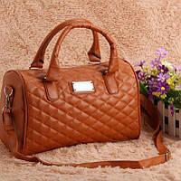 Женская сумка Mango коричневого цвета