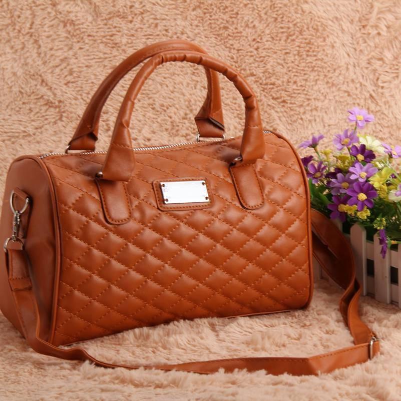 f26668899857 Женская сумка Mango коричневого цвета, цена 386,66 грн., купить в ...