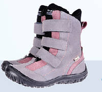 Ортопедические ботинки Mrugala зимние подростковые сиреневые 7265-84