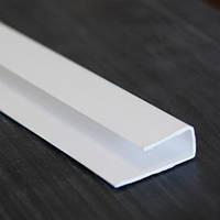 Стартова полоса ПВХ 8/10 мм біла, шоколад