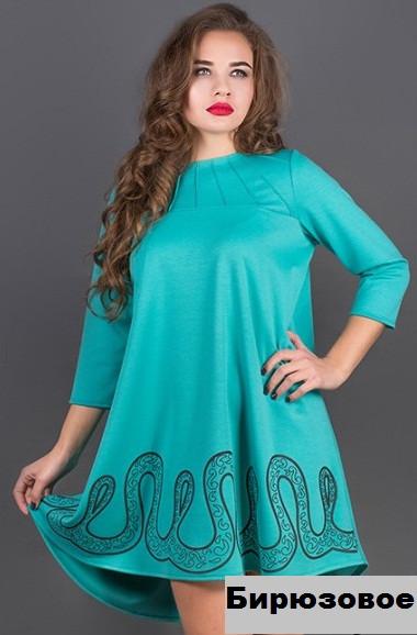 Купить Женское платье с гипюром-красное недорого